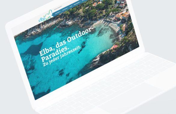 Elba landing page