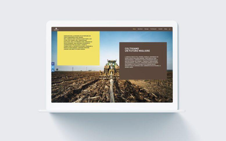 Enerfarm - Sito web