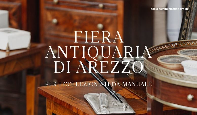 Antiquitätenmesse in Arezzo - Für Sammler, wie sie im Buche stehen