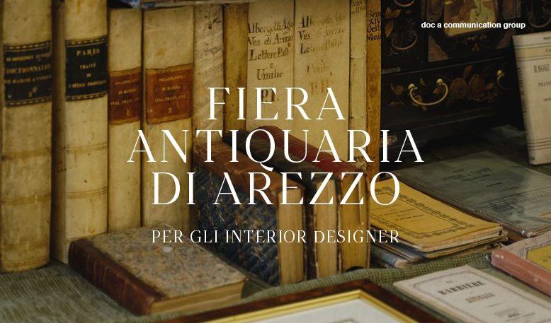 Antiquitätenmesse in Arezzo - Für Raumgestalter